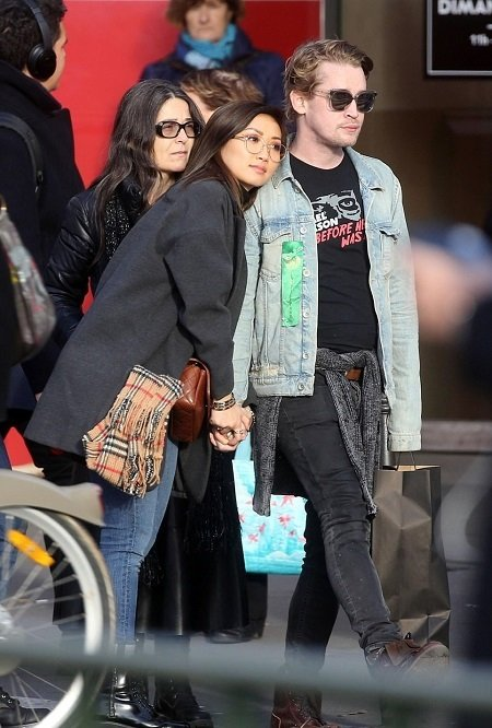 Brenda Song is dating Macaulay Culkin while enjoying a romantic holiday.