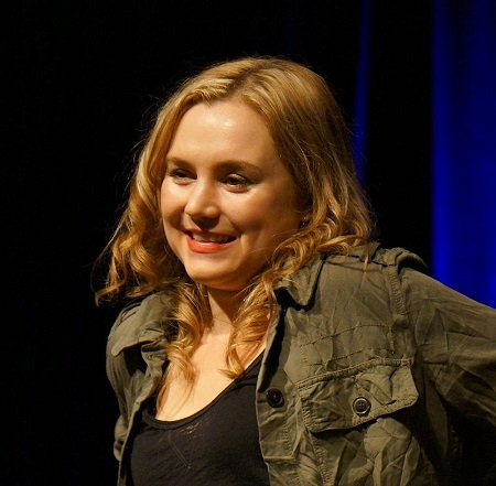 Rachel Miner at Salute to Supernatural Chicago 2012.