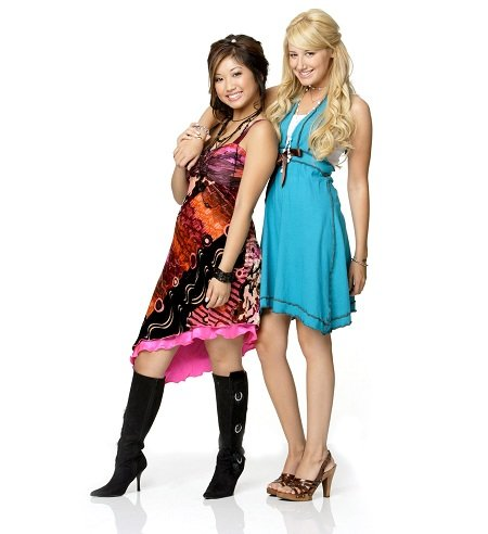 Brenda Song and Ashley Tisdale are great friends.