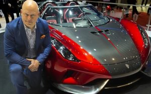 Christian von Koenigsegg, CEO of Koenigsegg Automobiles AB, has a net worth of $100 million.