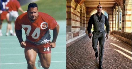 Dwayne The Rock Johnson Football Career to WWE Star