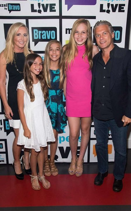 Shannon & David Beador with their three daughters.