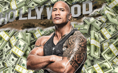 The Rock Highest Paide Actor in the World