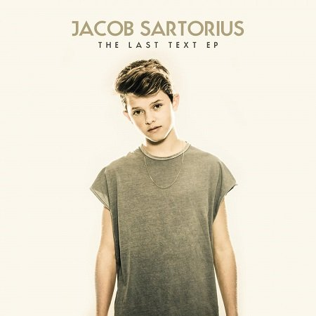 Jacob Sartorius on the cover of his EP 'The Last Text'.