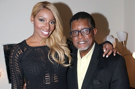 NeNe Leakes with her husband Gregg Leakes.