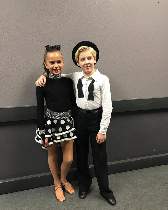 Lev Cameron with his SYTYCD partner Sofia Sachenko.