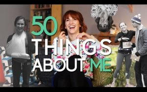 50 Things about Me video from Julie Nolke