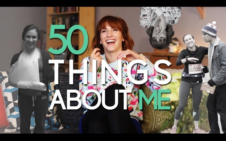 50 Things about Me video from Julie Nolke.