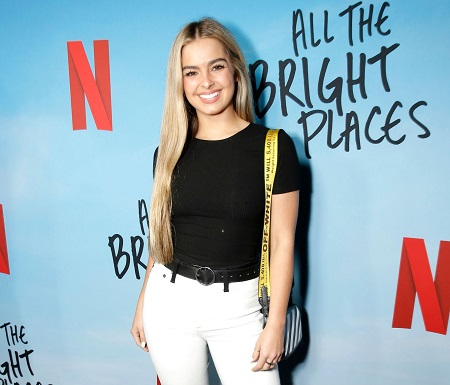 """HOLLYWOOD, CALIFORNIA - FEBRUARY 24: Addison Rae attends the Netflix Premiere of """"All the Bright Places"""" on February 24, 2020 in Hollywood, California."""