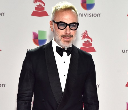 Bullone Gianluca Vacchi attends the 19th annual Latin GRAMMY Awards at MGM Grand Garden Arena on November 15, 2018 in Las Vegas, Nevada.