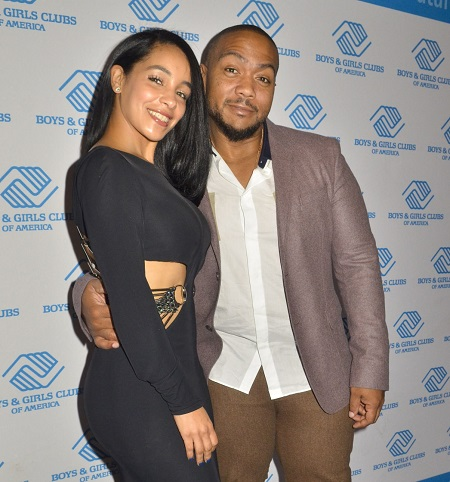 Monique Mosely and Timbaland attend the 2014 Boys & Girls Club Youth of the Year Award gala at the National Building Museum on September 16, 2014 in Washington, DC.