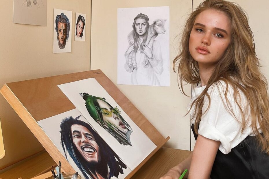 Meet Julia Gisella, The Artist Celebrities Ask Their Pictures Drawn From